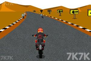 《摩托计时赛》游戏画面3