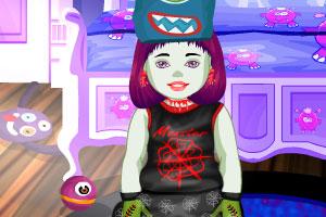 《怪物高校小宝宝》游戏画面1