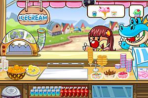 《冰淇淋小屋》游戏画面1