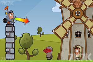 《投掷炸弹》游戏画面1