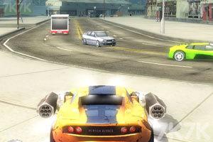 《激情燃烧的赛车》游戏画面3