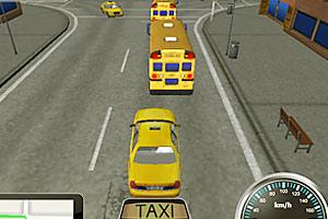 《小小出租车3D版》游戏画面1