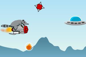《疯狂浣熊无敌版》游戏画面1