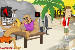《屌丝海滩健身》游戏画面2