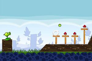 《豌豆战小鸟》截图1