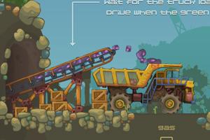 《采矿大卡车无敌版》游戏画面1