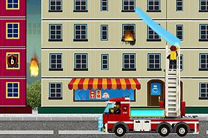 《乐高救火队》游戏画面1