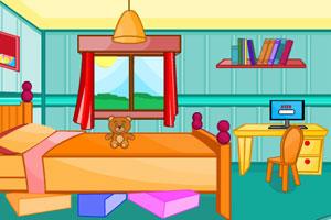 《大大的卧室逃离》游戏画面1