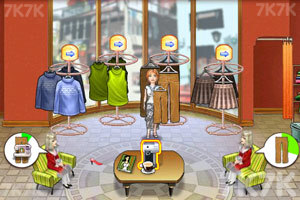 《开家服装店》游戏画面1