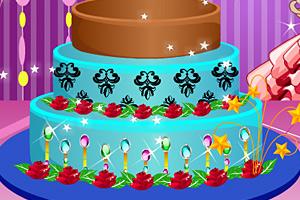 《丘比特蛋糕装饰》游戏画面1