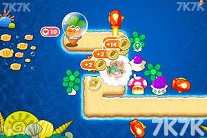 《保卫萝卜2深海无敌版》游戏画面4