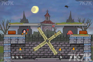 《炸弹炸毁小人》游戏画面3
