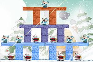 《不愤怒的圣诞老人》游戏画面2