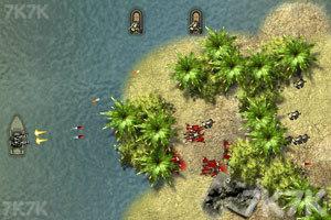 《越南船战》游戏画面1