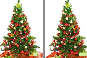 《圣诞树找茬》游戏画面1