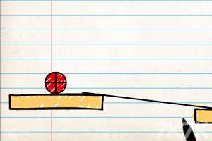 《画线小球》游戏画面1