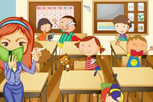 《布置我的教室》游戏画面1