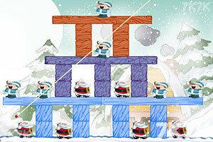 《不愤怒的圣诞老人无敌版》游戏画面2