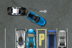 《超级跑车停车》游戏画面1