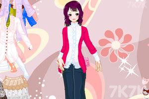 《美丽蕾丝淑女装》游戏画面1