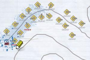 《画笔武器-纸上守城无敌版》游戏画面1