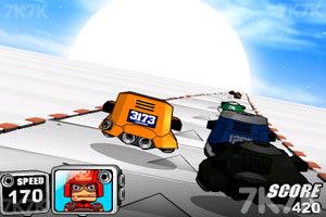 《太空赛车》游戏画面2