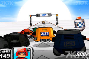 《太空赛车》游戏画面3