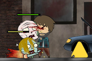《大叔杀僵尸》游戏画面1