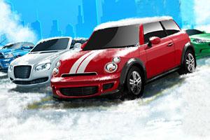 《冬季狂热停车无敌版》游戏画面1