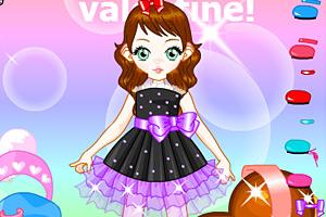 《可爱俊俏女孩》游戏画面1