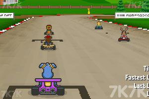 《小狗赛车》游戏画面1