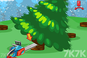 《打造华丽圣诞树》游戏画面1