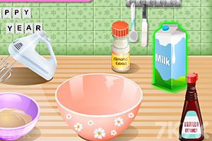 《新年美味蛋糕》游戏画面2