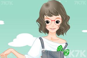 《小女生开学换装》游戏画面2