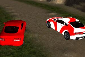 《疯狂山路赛车》游戏画面1
