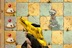 《射穿僵尸》游戏画面1