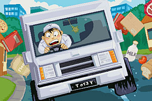 《忙碌的送奶工无敌版》游戏画面1