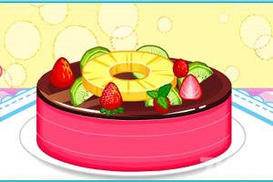 《大头妹做蛋糕》游戏画面2