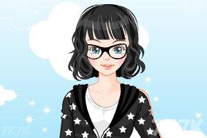 《卡通少女换装》游戏画面2