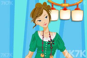 《时尚性感美女》游戏画面3