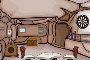 《逃出洞穴屋》游戏画面1