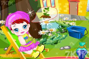 《卢卢娃当园丁》游戏画面2
