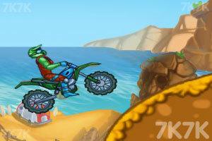 《山路摩托挑战赛》游戏画面3