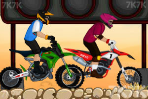《越野摩托挑战赛》游戏画面2