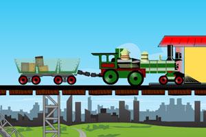 《驾驶火车运货》游戏画面1