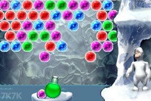 《雪人泡泡龙》游戏画面4