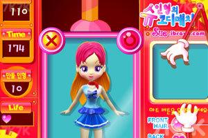 《阿sue设计漂亮娃娃》游戏画面2