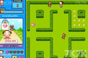 《美女吃豆豆》游戏画面3