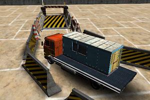 《3D大卡车运货》游戏画面1