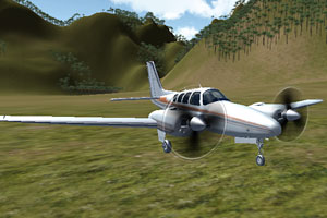 《3D飛機駕駛》游戲畫面1